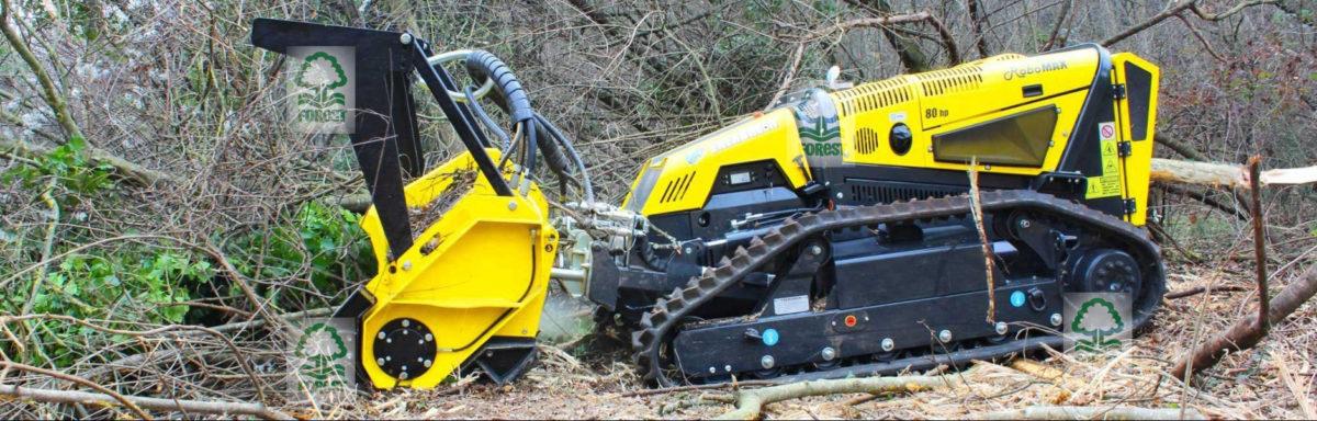 Energreen RoboMAX mulczer leśny karczowanie krzaków i zarośli